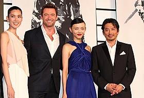 真田広之ら日本人キャストと再会したヒュー・ジャックマン「ウルヴァリン:SAMURAI」