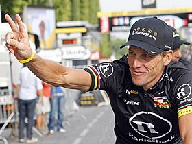ステロイド剤の使用で話題になった 自転車選手のランス・アームストロング「マン・オブ・スティール」