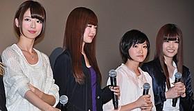 Sexy Zone中島と恋人を演じた乃木坂46・橋本(左)「劇場版 BAD BOYS J 最後に守るもの」