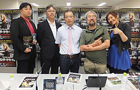 (左から)ジャンクハンター吉田(MC)、 山本氏、大久保氏、青井氏、行成とあ(MC)「ゼロ・ダーク・サーティ」