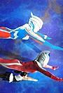 ウルトラマンと空を飛ぶ! トリックアート満載の「アートスタジオ」開催