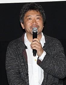 上映後のティーチインを行った是枝裕和監督「そして父になる」