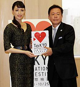 栗山千明と猪瀬都知事「東京オリンピック」