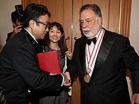 フランシス・フォード・コッポラ監督と 対面を果たした三谷幸喜監督「清須会議」