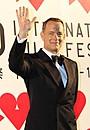 トム・ハンクス台風乗り越え4年ぶり来日!第26回東京国際映画祭の開会を宣言