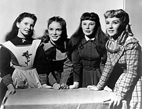 エリザベス・テイラーが主演した「若草物語(1949)」の一場面「若草物語」