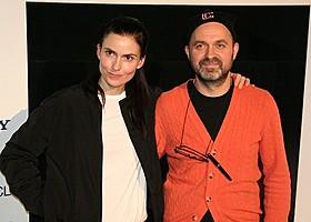 ルーカス・ムーディソン監督(右)とココ・ムーディソン「ウィ・アー・ザ・ベスト!」