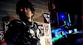 「アストロン6の進撃!」の第1弾「マンボーグ」の一場面「マンボーグ」