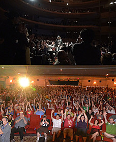 世界での上映で大歓迎を受けた三木監督と「俺俺」「俺俺」