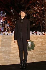 クリスマスイルミネーション 点灯式に出席した家入レオ