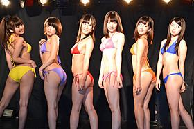 セクシーな水着姿を披露した日テレジェニック2013の6人