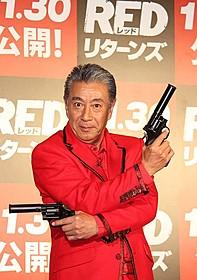 テキトー節で映画をアピールした高田純次「REDリターンズ」