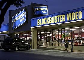 全店閉鎖が発表されたブロックバスタービデオ