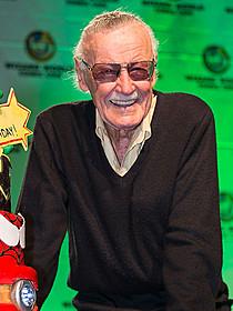 人気コミック原作者スタン・リー「スパイダーマン」