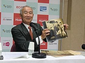 阪神ファンだった中村登監督の思い出の写真を紹介した好夫氏「夜の片鱗」
