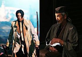 伊勢谷友介演じる蒼紫、田中泯扮する翁!「るろうに剣心」