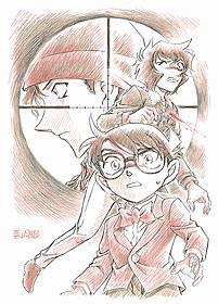 「名探偵コナン 異次元の狙撃手」 原作者描き下ろしビジュアル「名探偵コナン 異次元の狙撃手(スナイパー)」