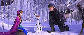 全米で大ヒットしている「アナと雪の女王」「アナと雪の女王」