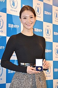 国連WFP日本大使に任命された知花くらら