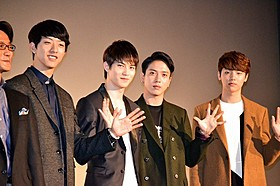 韓国出身の人気4人組バンド「CNBLUE」「The Story of CNBLUE NEVER STOP」