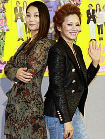 母娘役を演じた小池栄子と夏木マリ