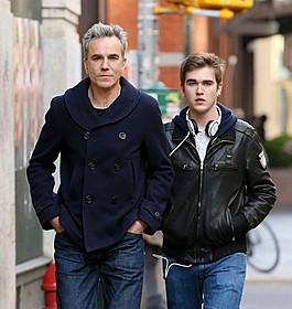 ダニエル・デイ=ルイスと息子のガブリエル=ケイン「リンカーン」