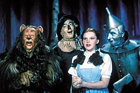 1939年のミュージカル映画「オズの魔法使」「オズの魔法使」