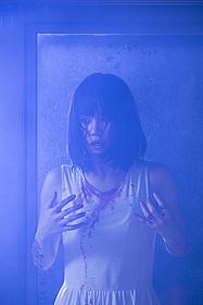 3作目の映画主演を務める鈴木まりや「コックリさん(2004)」