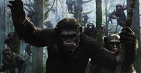 「猿の惑星:新世紀(ライジング)」の一場面「猿の惑星」