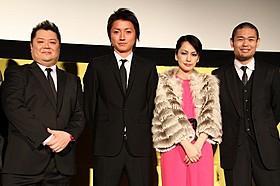 木下半太氏のクライム小説を品川ヒロシ監督が映画化「サンブンノイチ」