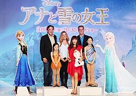 来日した「アナと雪の女王」監督コンビ、神田沙也加ら「アナと雪の女王」