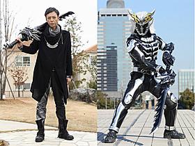 映画オリジナルの仮面ライダーフィフティーンに変身!「仮面ライダーX」