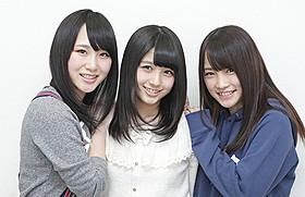 犬童監督に見出された新世代3人が主演 (左から)高橋朱里、大和田南那、川栄李奈「のぼうの城」