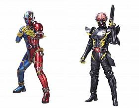 キカイダー(左)とキカイダーの宿敵ハカイダーの新ビジュアル「キカイダー REBOOT」