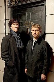 シャーロック・ホームズに扮した ベネディクト・カンバーバッチも感無量?「シャーロック・ホームズ」