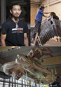 WETAワークショップで働く大橋将行氏は現在33歳「ホビット 竜に奪われた王国」