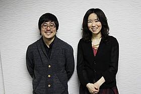 熊切和嘉監督と原作者の桜庭一樹氏「私の男」