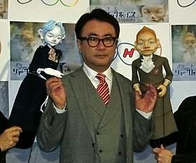 人形劇の脚本を手がける三谷幸喜「シャーロック・ホームズ」