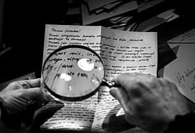 「他人の手紙」の一場面「他人の手紙」