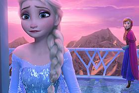 「アナと雪の女王」の一場面「アナと雪の女王」