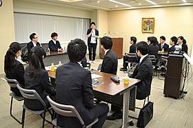 東宝に入社を希望する大学生がワークショップに参加「神様のカルテ」