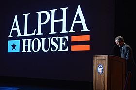 「Alpha House」制作発表会見