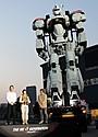 全長8メートル実物大パトレイバー、豊洲に立つ!「これを見るため…」押井守も感無量