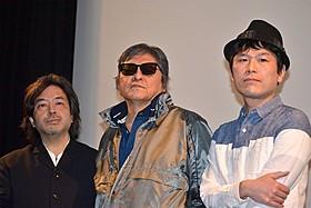 デビュー作「青春の殺人者」を語った長谷川和彦監督(中央)「青春の殺人者」