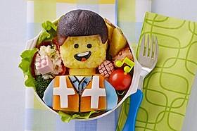 キャラ弁になったエメット「LEGO(R) ムービー」