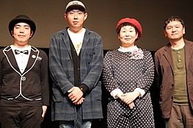 大島美幸、劇中で丸坊主のおっさん役に「福福荘の福ちゃん」