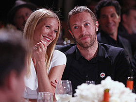 おしどり夫婦として知られていたふたり「コールドプレイ」