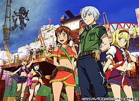 新作OVAとして制作される 「翠星のガルガンティア めぐる航路、遥か」