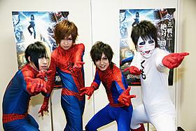 メンバー出演のCM映像は爆笑必至!「アメイジング・スパイダーマン2」