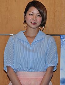イベントに出席した田中美保「セインツ 約束の果て」